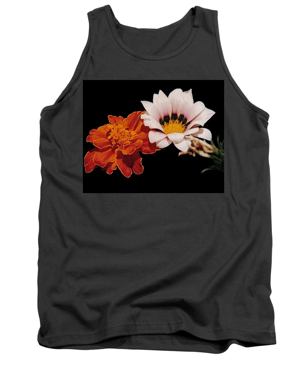 Original Tank Top featuring the photograph Flowers by J D Owen