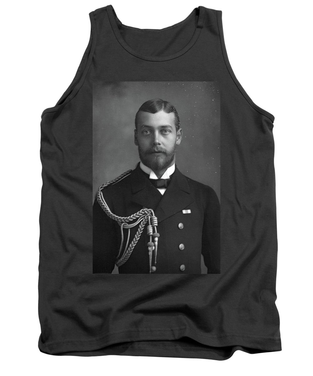 1890 Tank Top featuring the photograph George V (1865-1936) by Granger