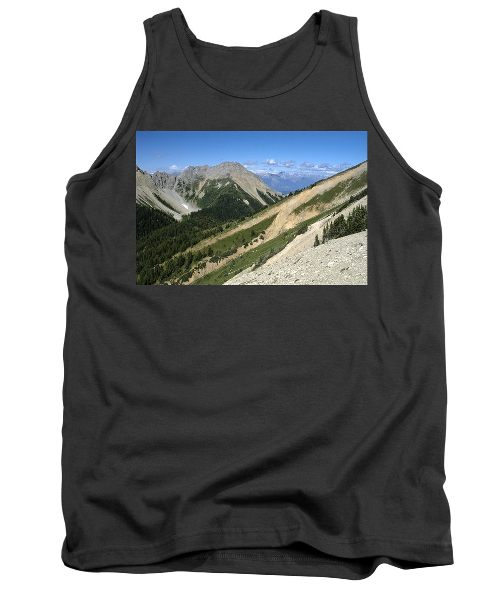 Americas Tank Top featuring the photograph Kindersley Pass by Roderick Bley