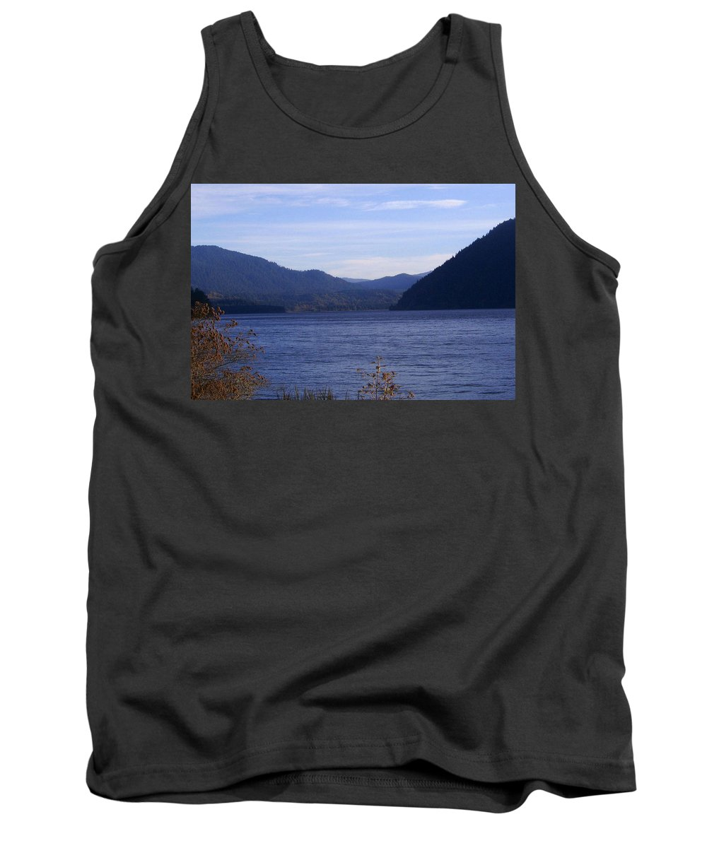 Bloom Tank Top featuring the photograph Lakes 5 by J D Owen