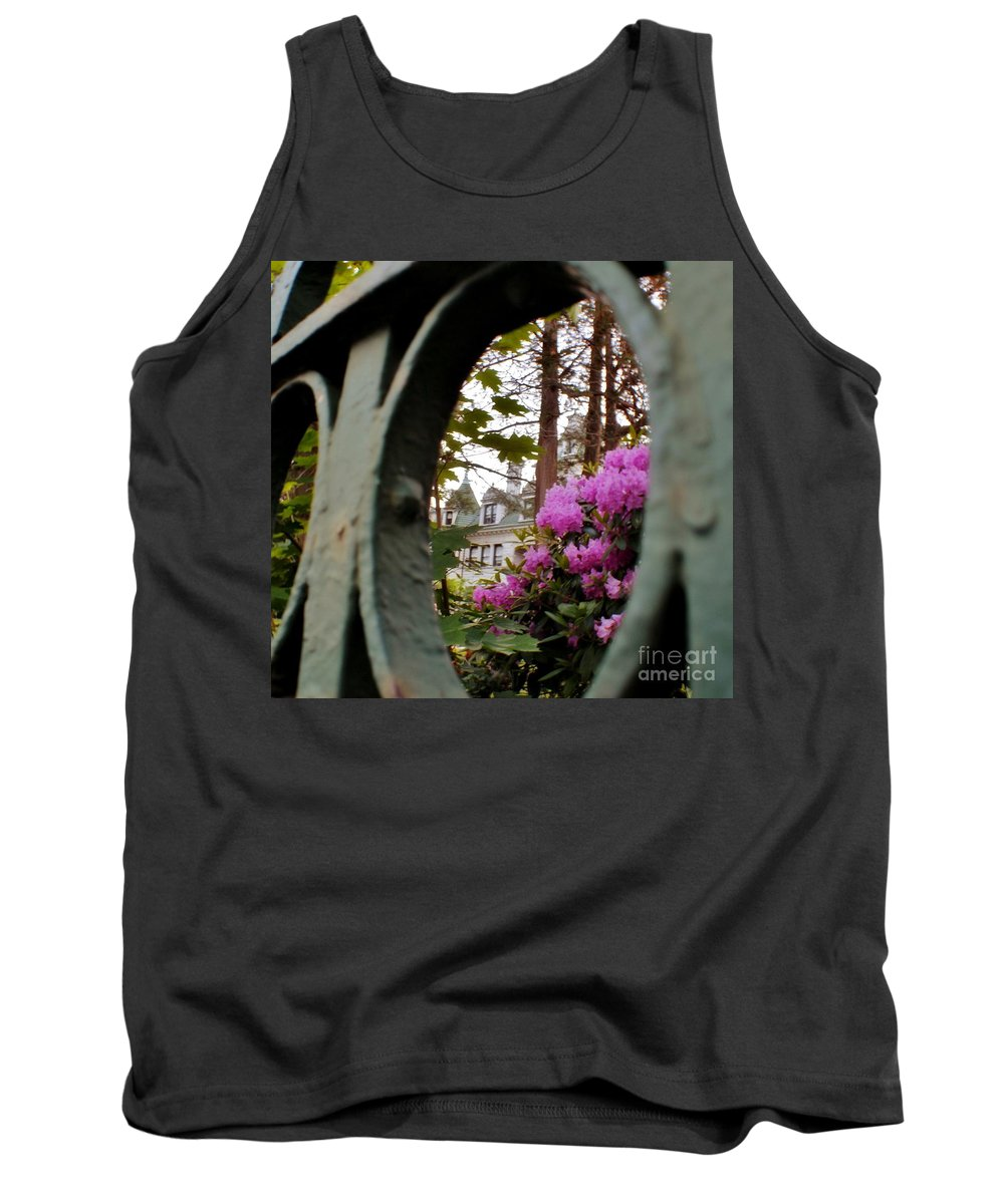 Tank Top featuring the photograph Morrison Hall Occc by Chet B Simpson