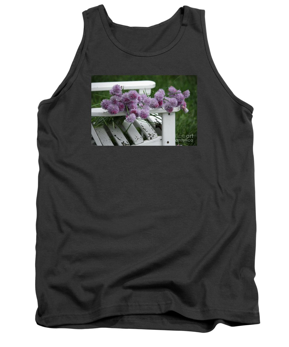 Wild Onion Flowers Tank Top featuring the photograph Wild Onion Flowers by Luv Photography