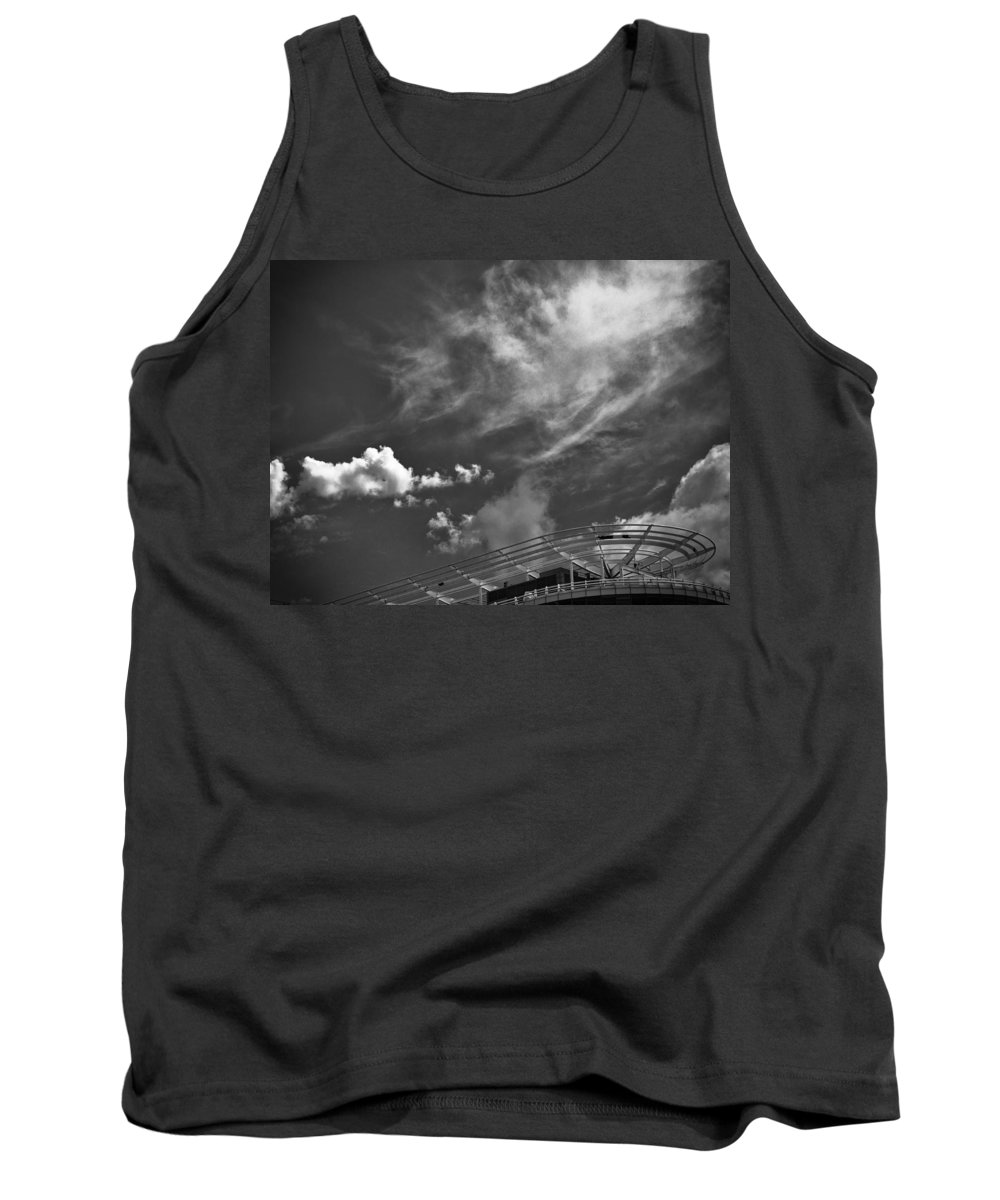 Clouds Tank Top featuring the photograph Untitled by Michele Mule'