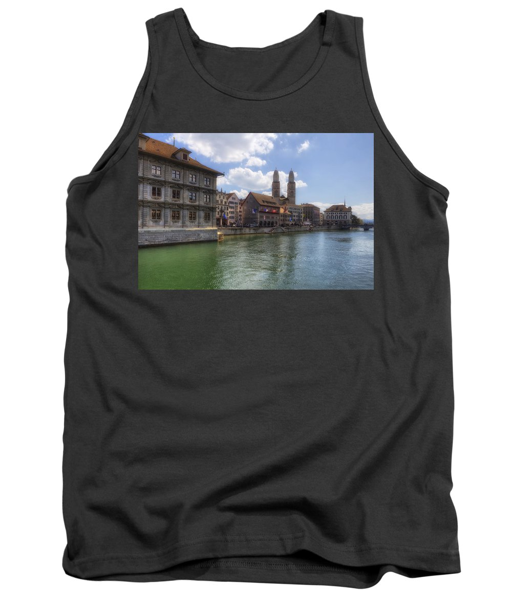 Zurich Tank Top featuring the photograph Zurich by Joana Kruse
