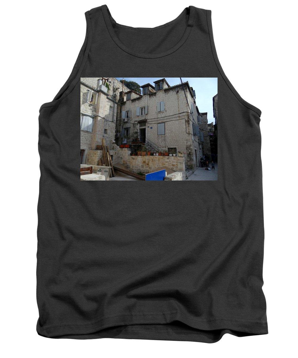 Split Croatia Tank Top featuring the photograph Views Of Split Croatia by Richard Rosenshein