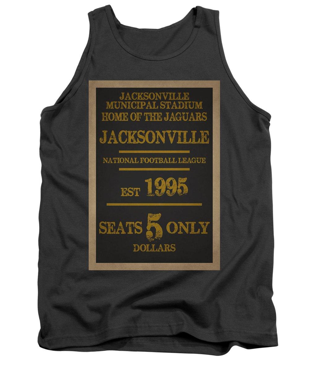 Jaguars Tank Top featuring the photograph Jacksonville Jaguars by Joe Hamilton
