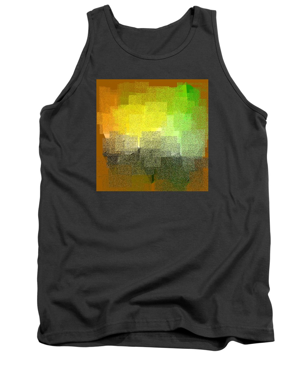 Abstract Tank Top featuring the digital art 5120.5.47 by Gareth Lewis