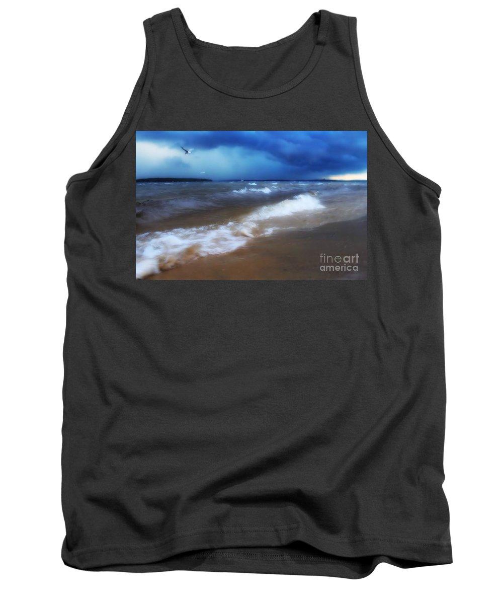 Lake Tank Top featuring the photograph Lake Winnipesaukee by Chet B Simpson
