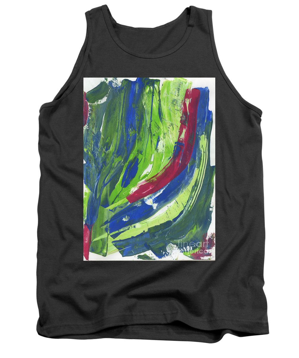 Tank Top featuring the painting Untitled by Taylor Webb