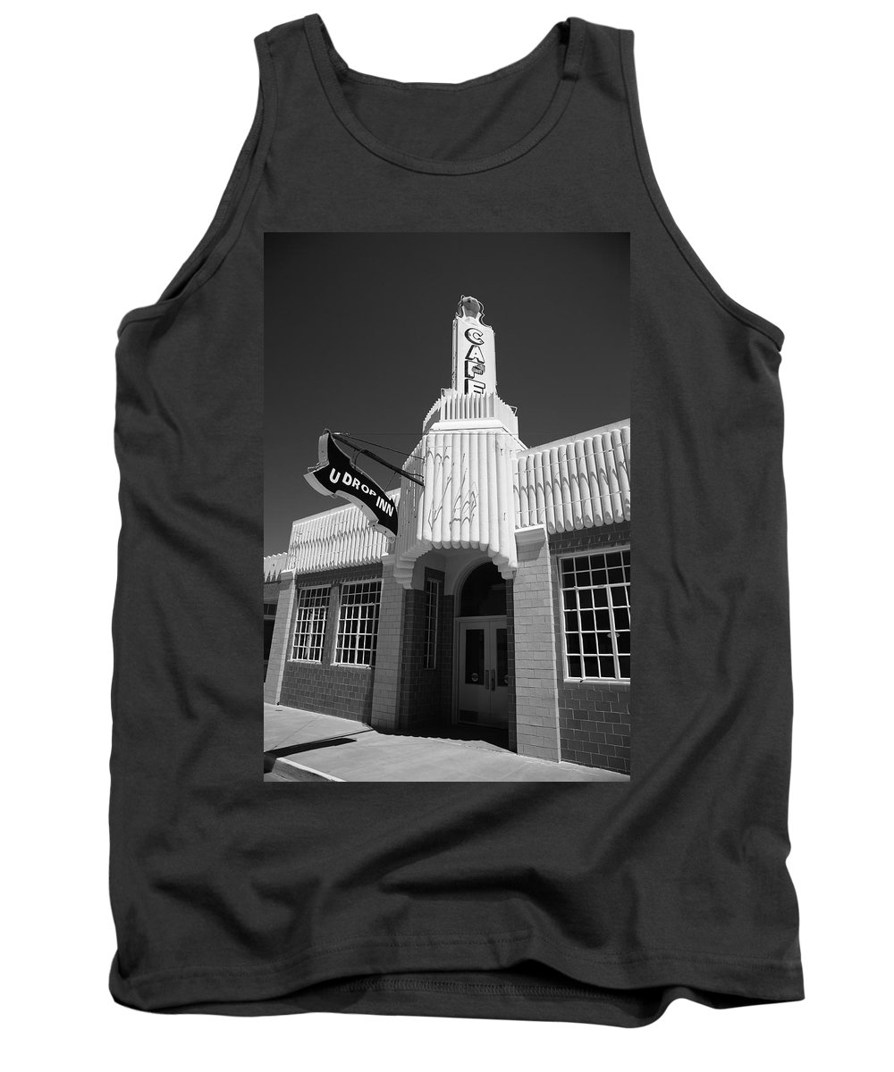 66 Tank Top featuring the photograph Route 66 Cafe by Frank Romeo