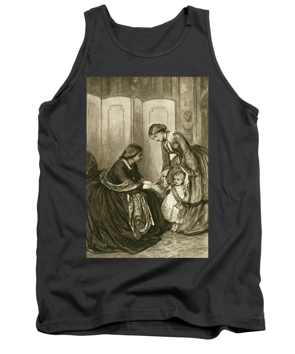 1880 Tank Top featuring the painting Victoria (1819-1901) by Granger