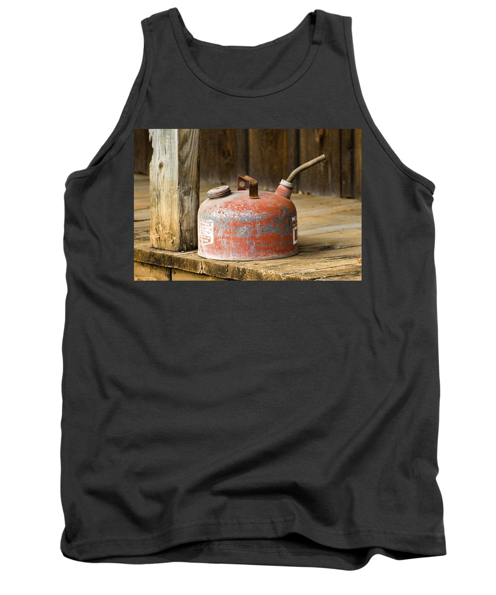 Vintage Tank Top featuring the photograph A Bit Of Nostalgia by Kathy Clark