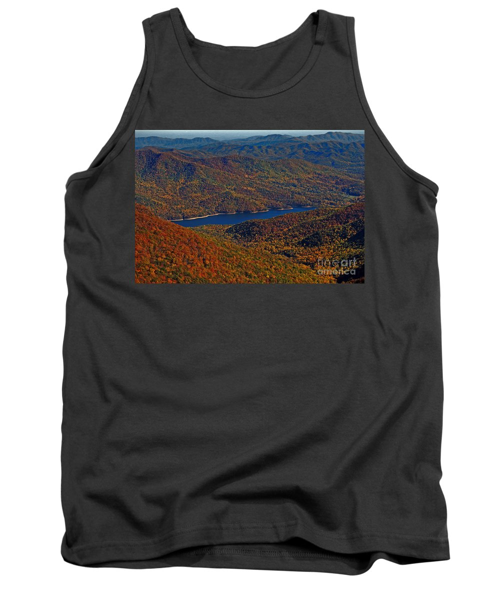 Nature Tank Top featuring the photograph A Jewel On The Smokies by Skip Willits