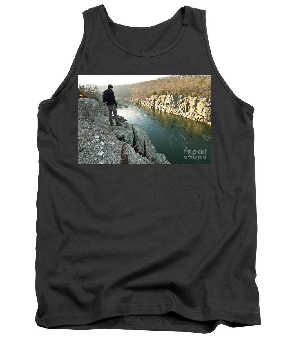 Mathers Tank Top featuring the photograph A Morning At Mathers Gorge by Benjamin Reed
