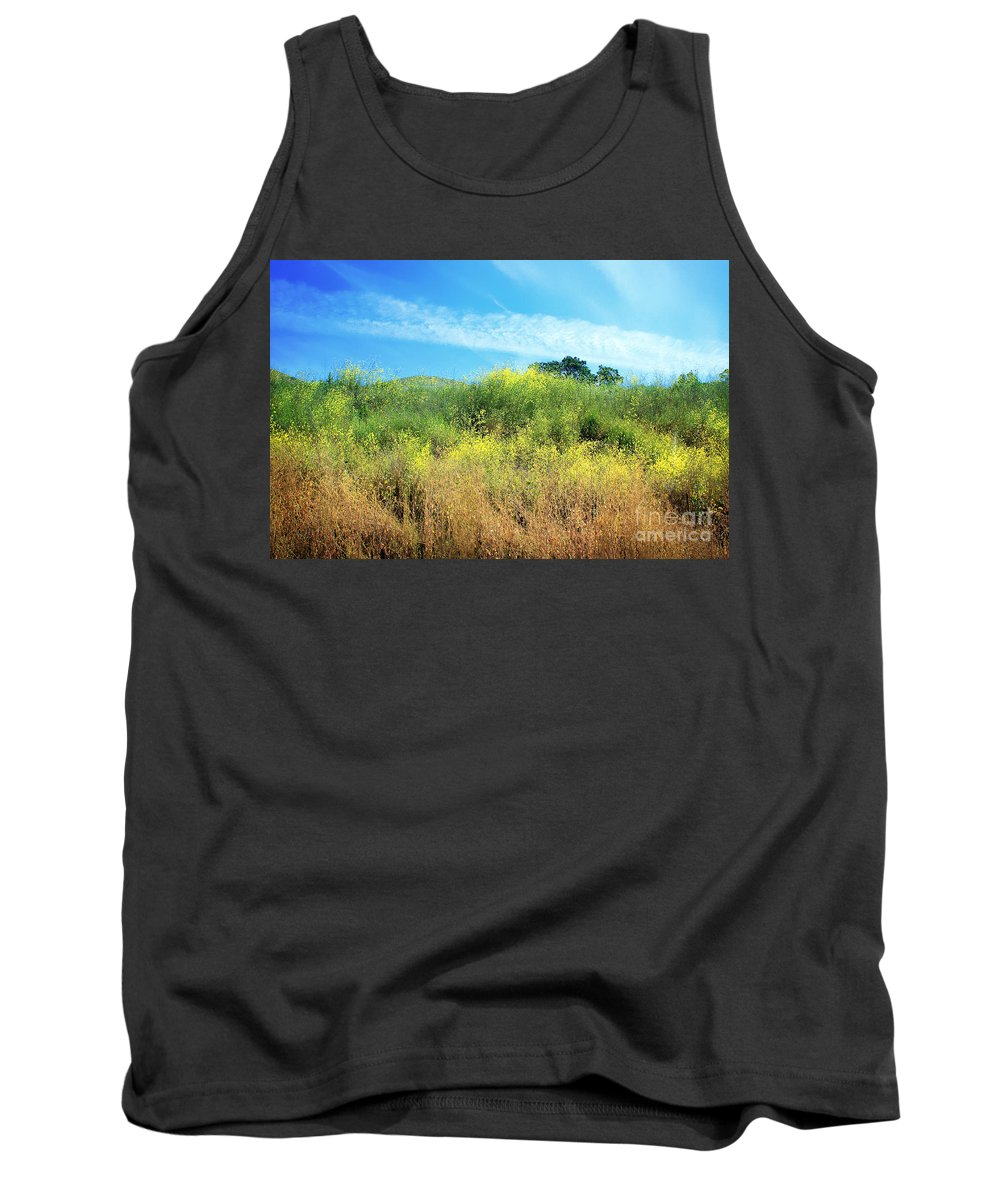 Landscape Tank Top featuring the photograph A Perfect Day by Ellen Cotton