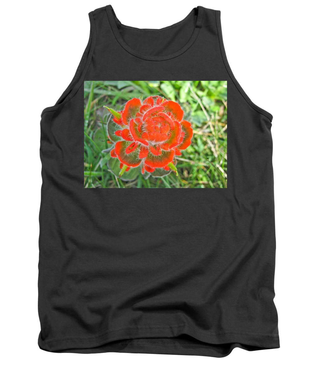 Flowers Tank Top featuring the photograph A West Coast Flower by Brian Williamson