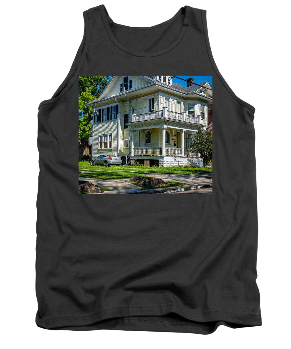 Home Tank Top featuring the photograph A Work In Progress by Steve Harrington