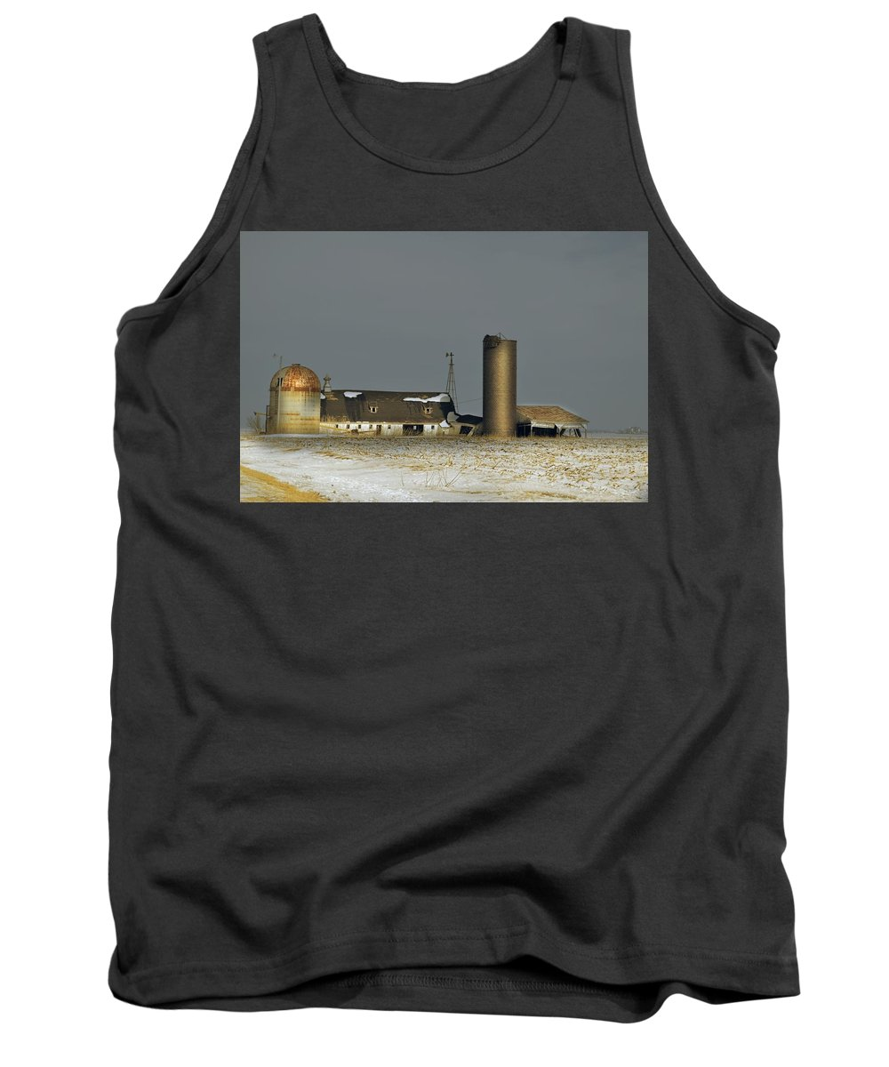Rustic Tank Top featuring the photograph Abandoned On Keystone by Bonfire Photography