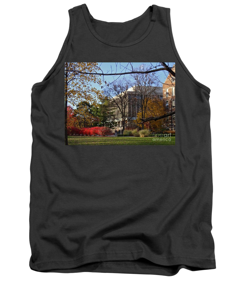 Fall Tank Top featuring the photograph Administration by Joseph Yarbrough