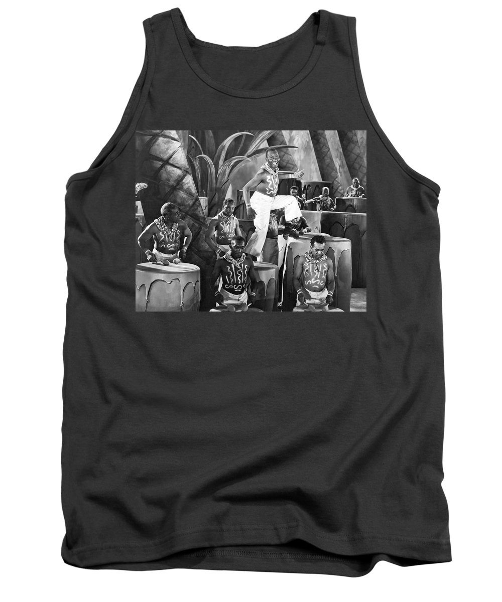1926 Tank Top featuring the photograph African American Musical Scene by Underwood Archives