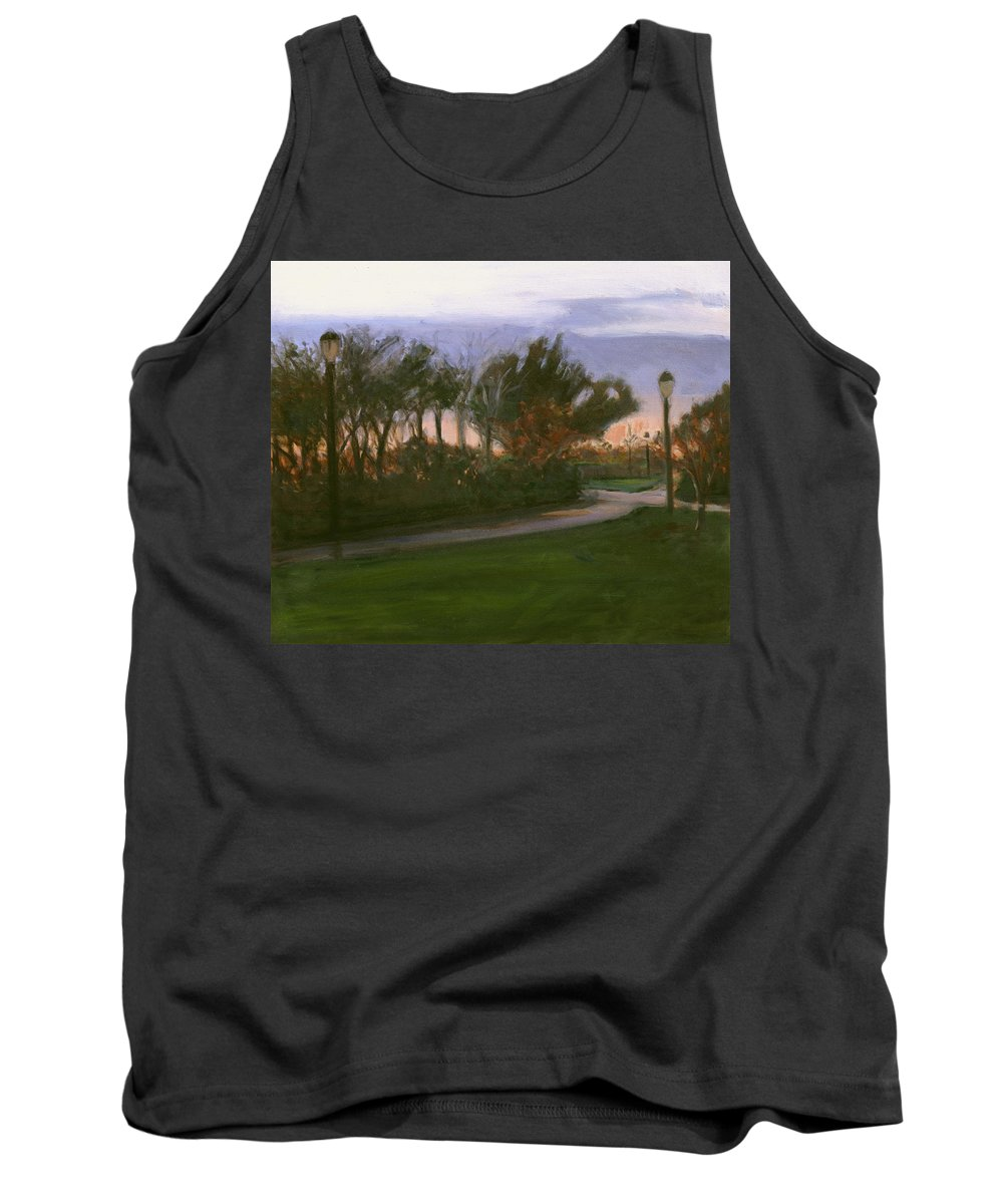 June Tank Top featuring the painting After The Rain by Sarah Yuster