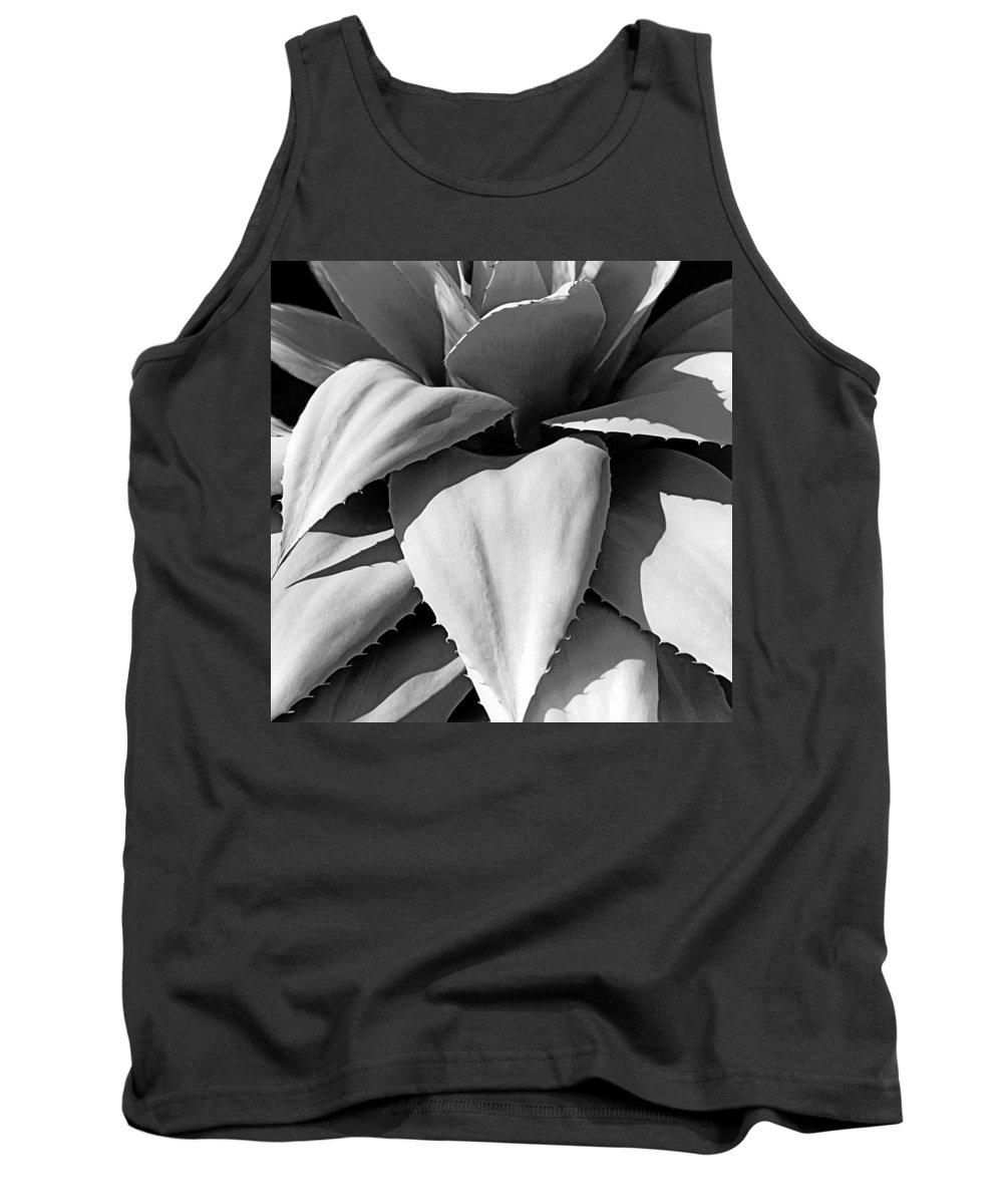Plants Of The Southwest Tank Top featuring the photograph Agave Detail I I I by Jim Smith