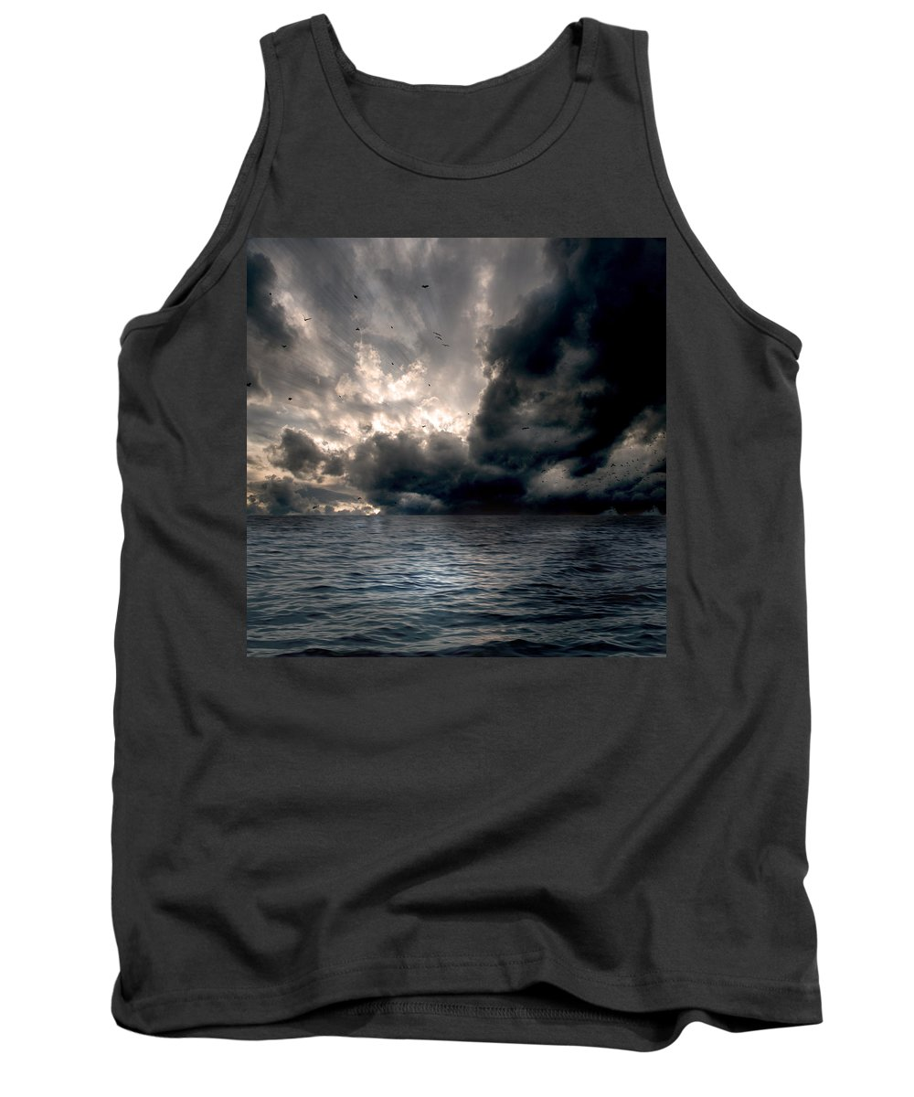 Beams Tank Top featuring the photograph Air And Water No.25 by Marc Ward