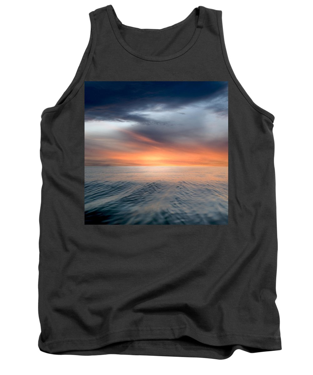 Clouds Tank Top featuring the photograph Air And Water No.57 by Marc Ward