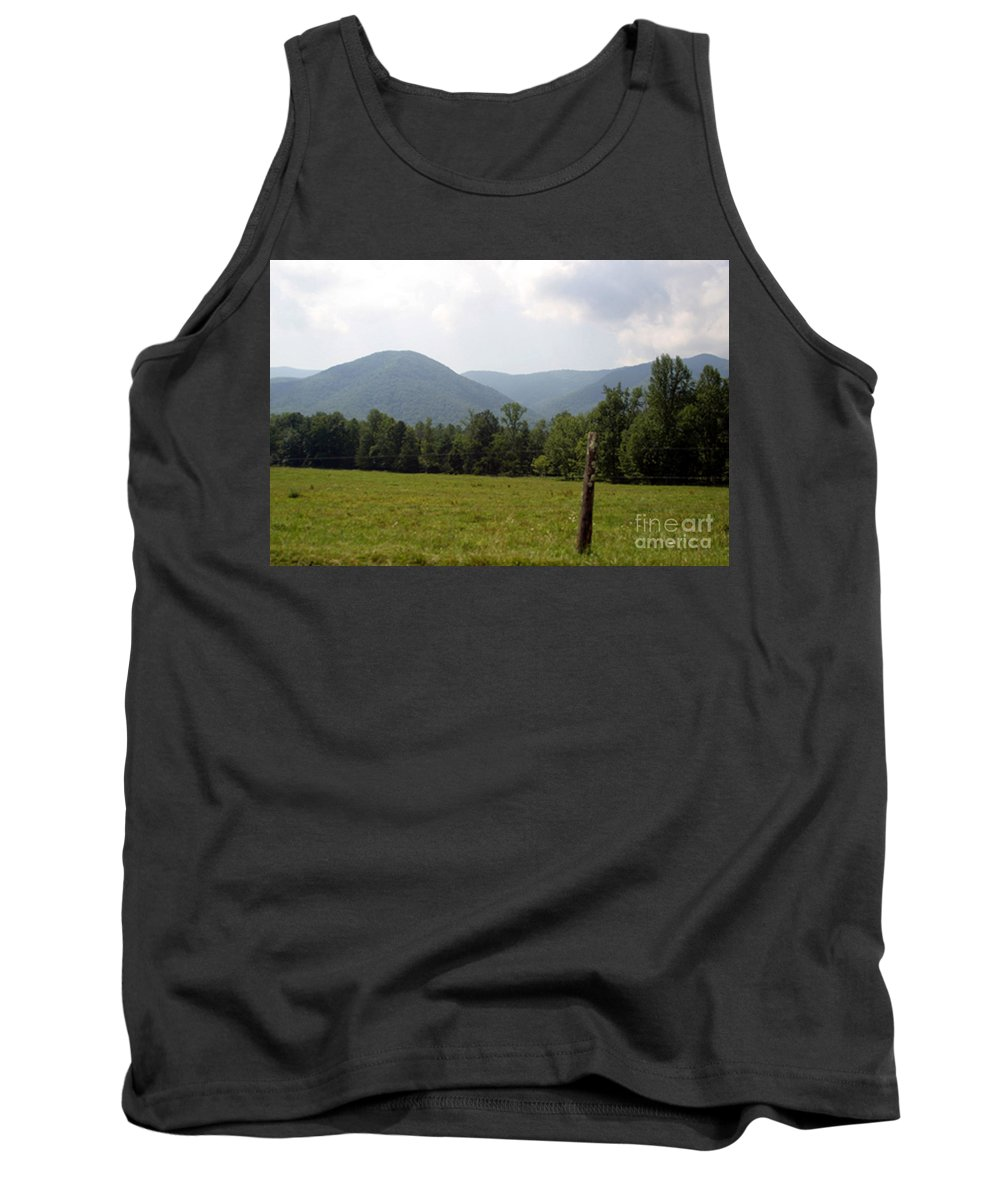 Aerial Tank Top featuring the photograph Almost Heaven by Alan Look