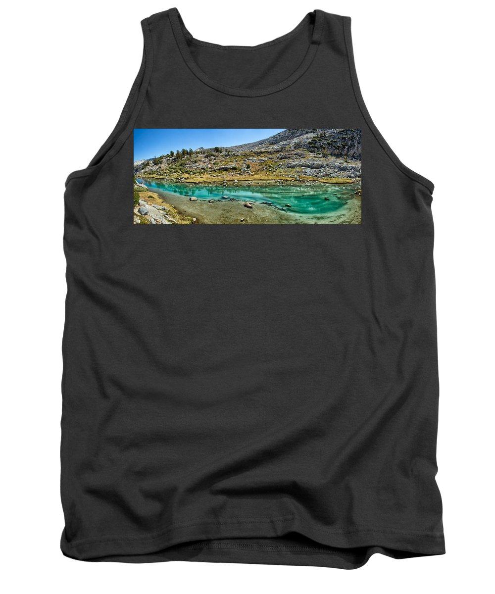 John Muir Trail Tank Top featuring the photograph Alpine Lake by Shauna Milton