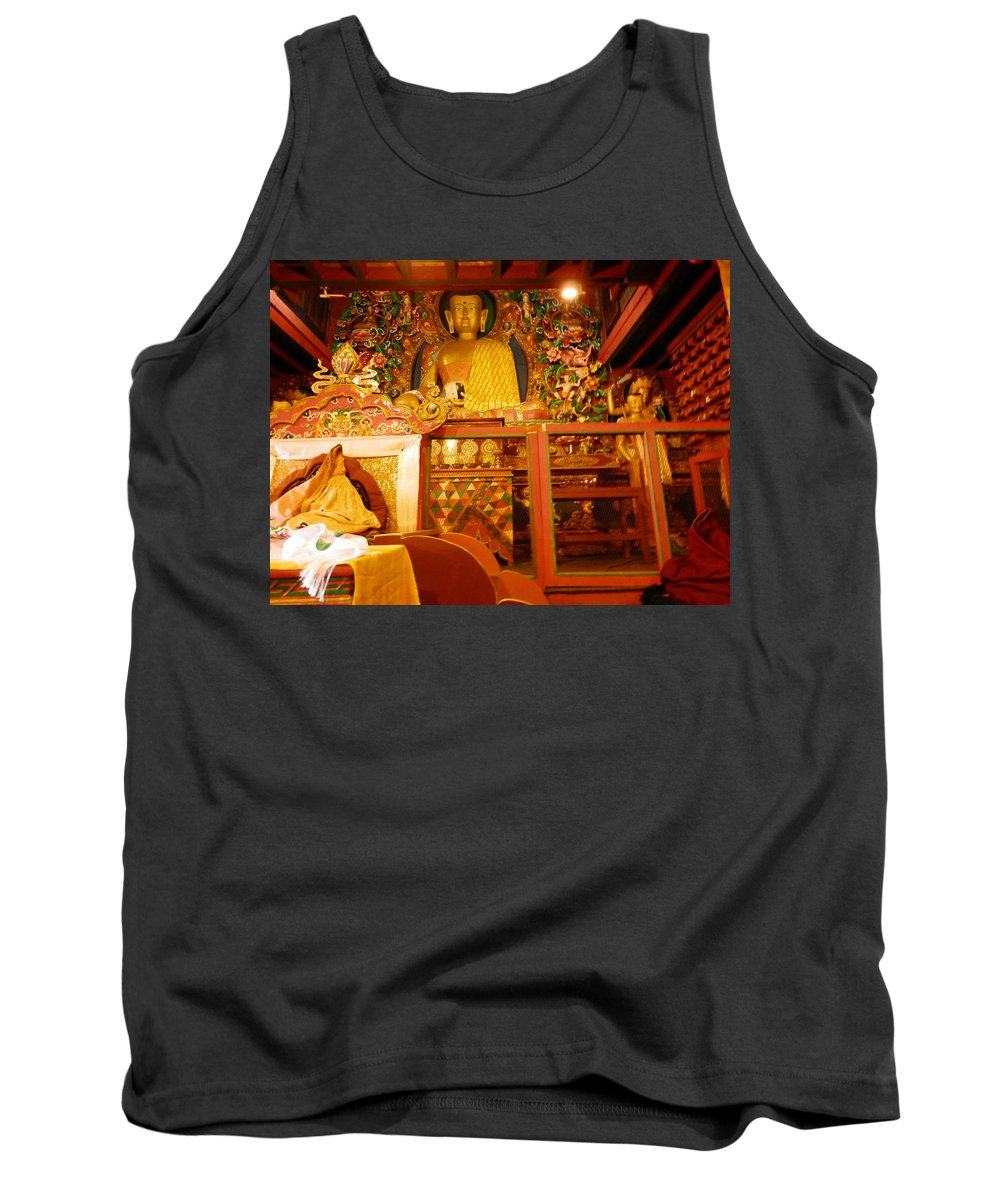 Altar Tank Top featuring the photograph Altar 1 by Pema Hou