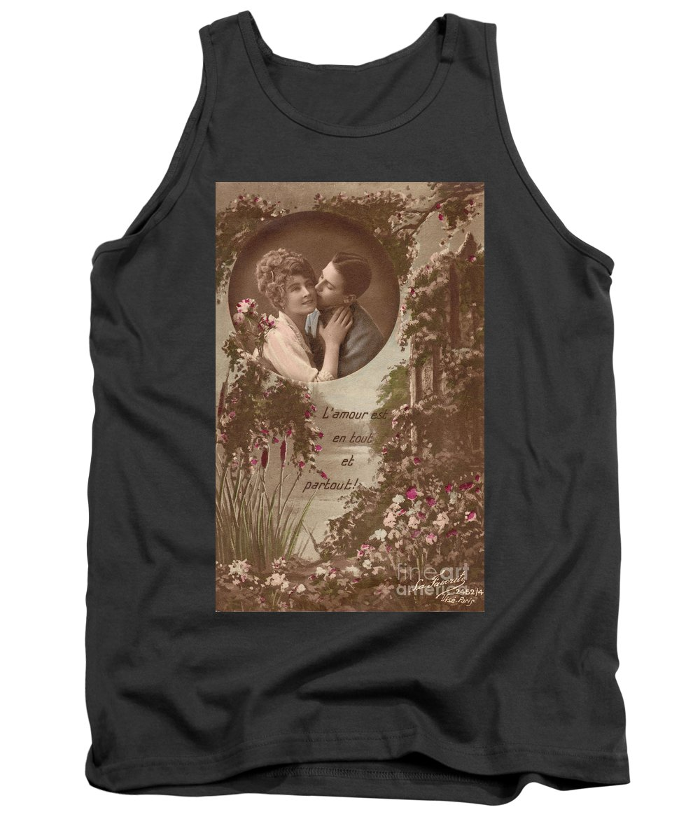 Always Love Tank Top featuring the photograph Always Love by Luther Fine Art