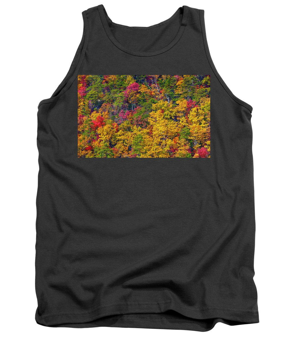 Landscape Tank Top featuring the photograph Amazing Cloudland In The Fall by John M Bailey