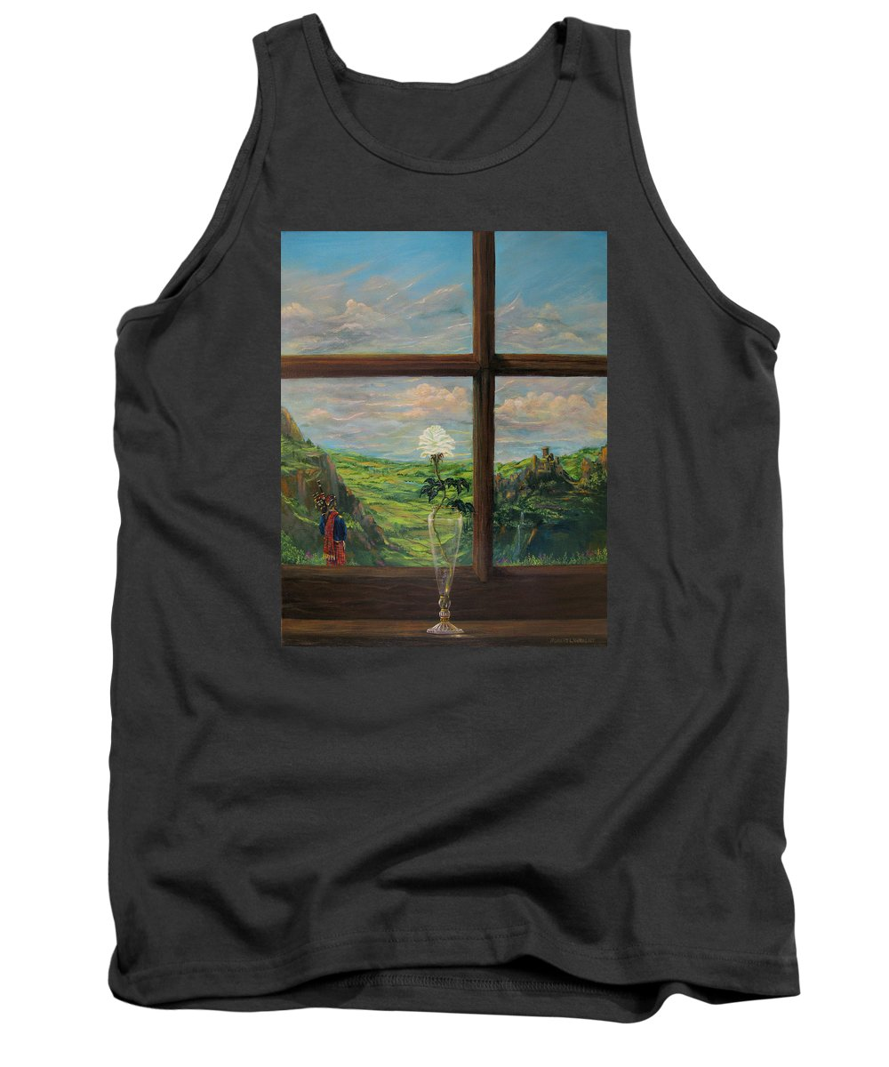 Piper Tank Top featuring the painting Amazing Grace by Robert Wright