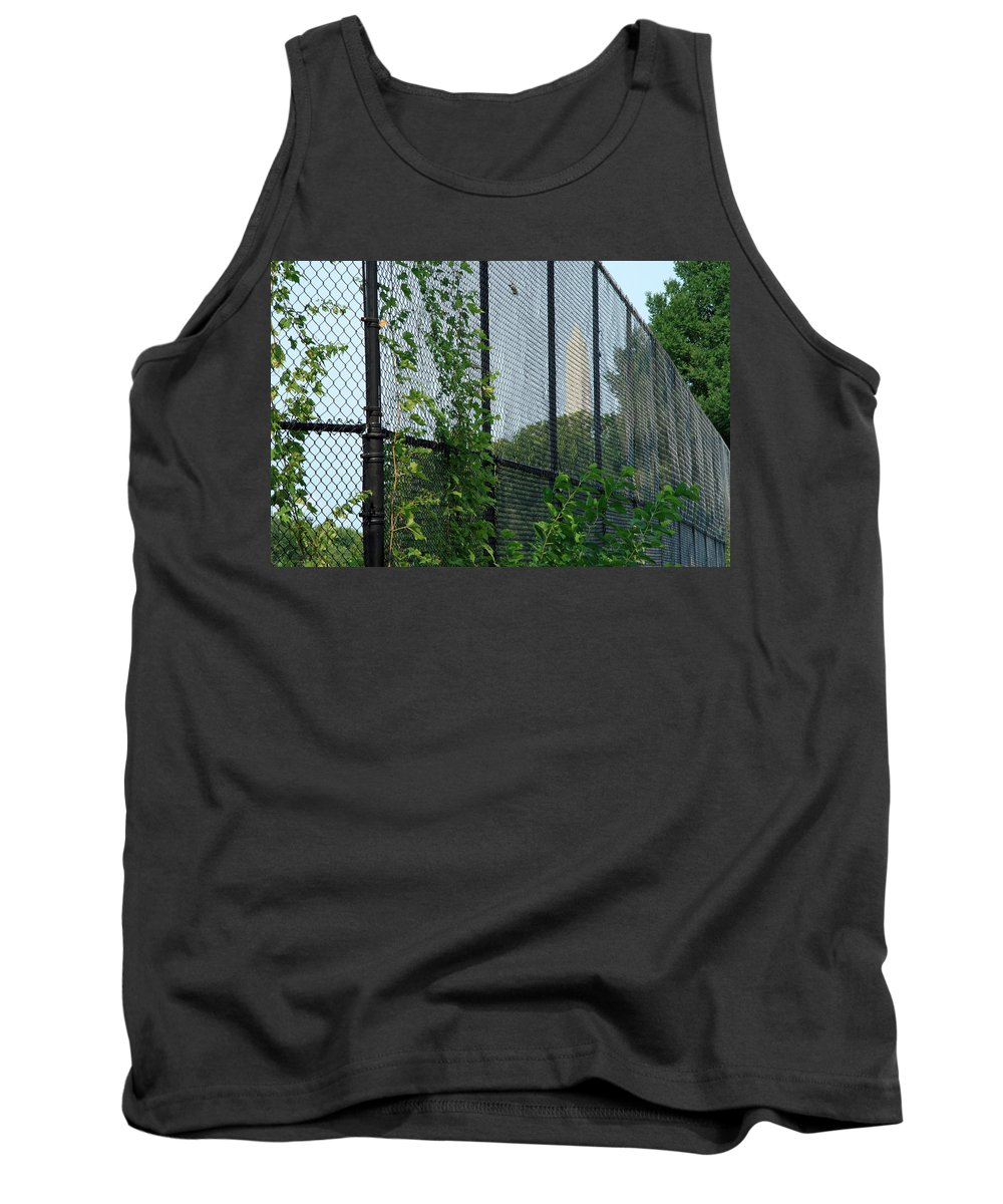 Washington Tank Top featuring the photograph An Obstructed View Of Washington by Cora Wandel