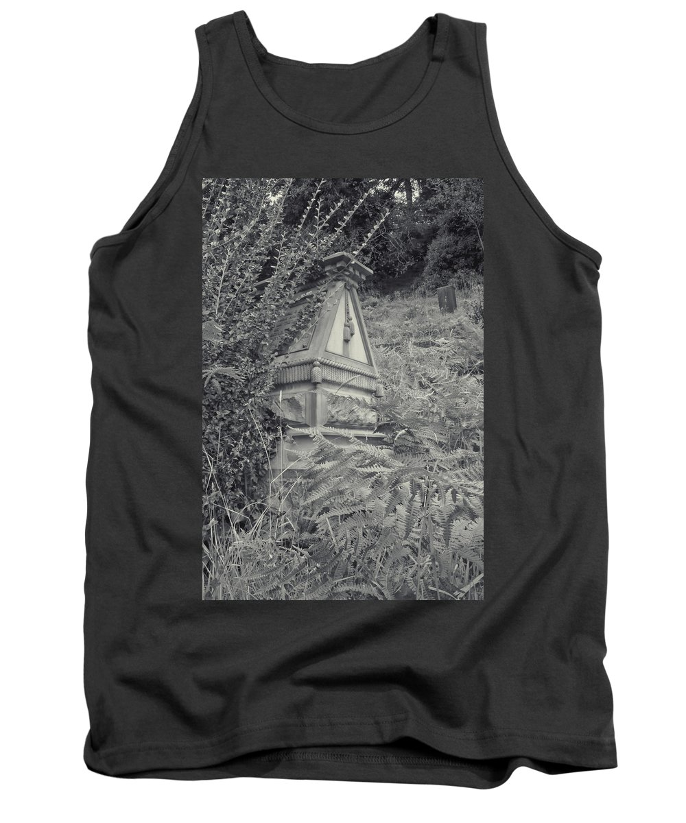 Tank Top featuring the photograph Ancient Gravesite by Cathy Anderson