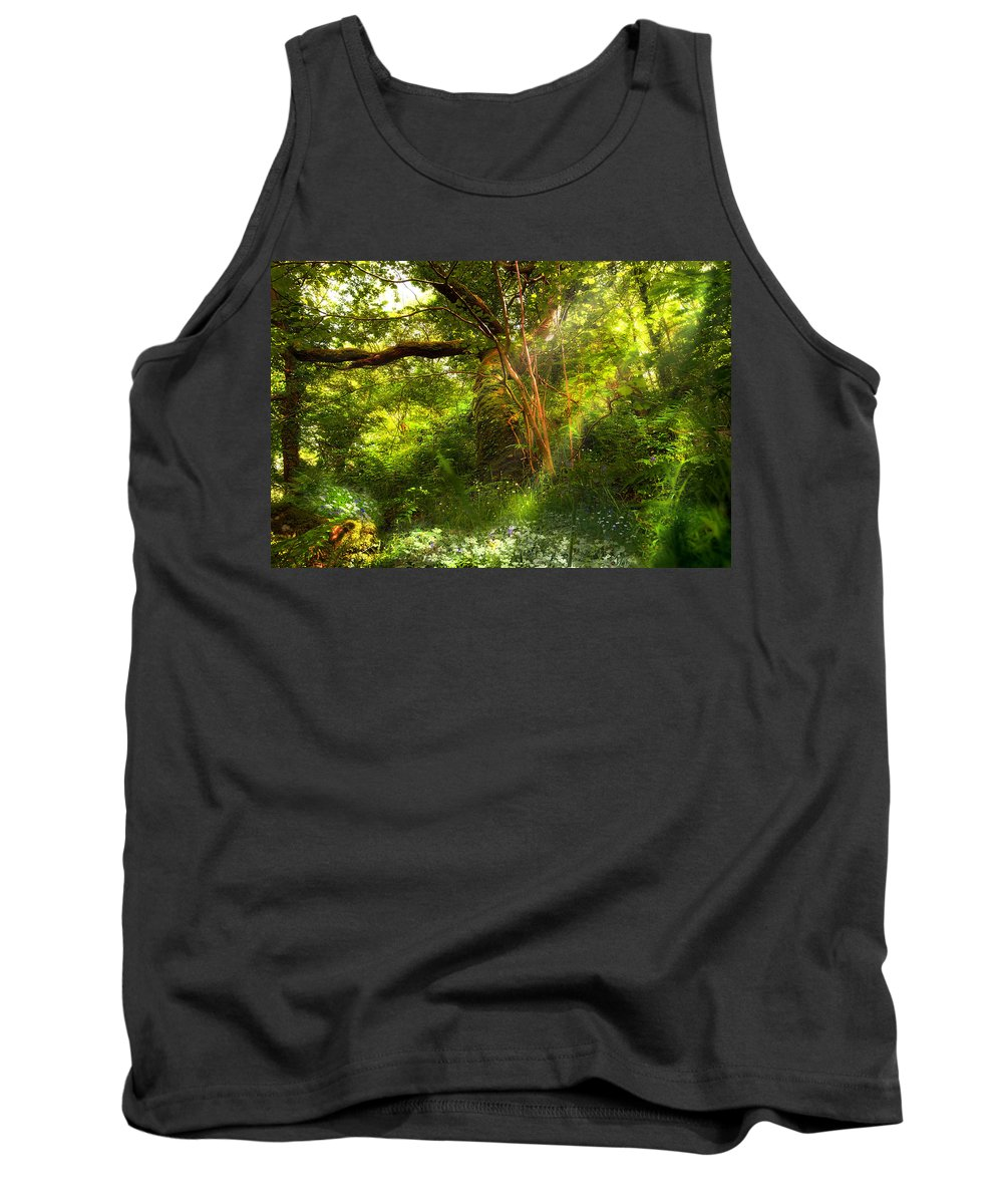 Tree Tank Top featuring the photograph Ancient Tree by Mal Bray