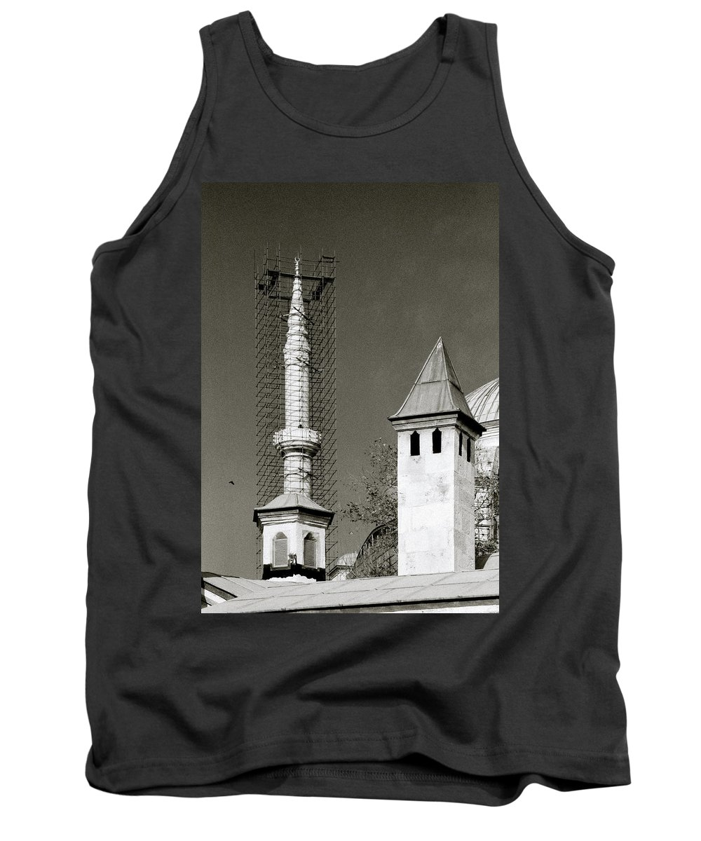 Istanbul Tank Top featuring the photograph Ancient Turkey by Shaun Higson