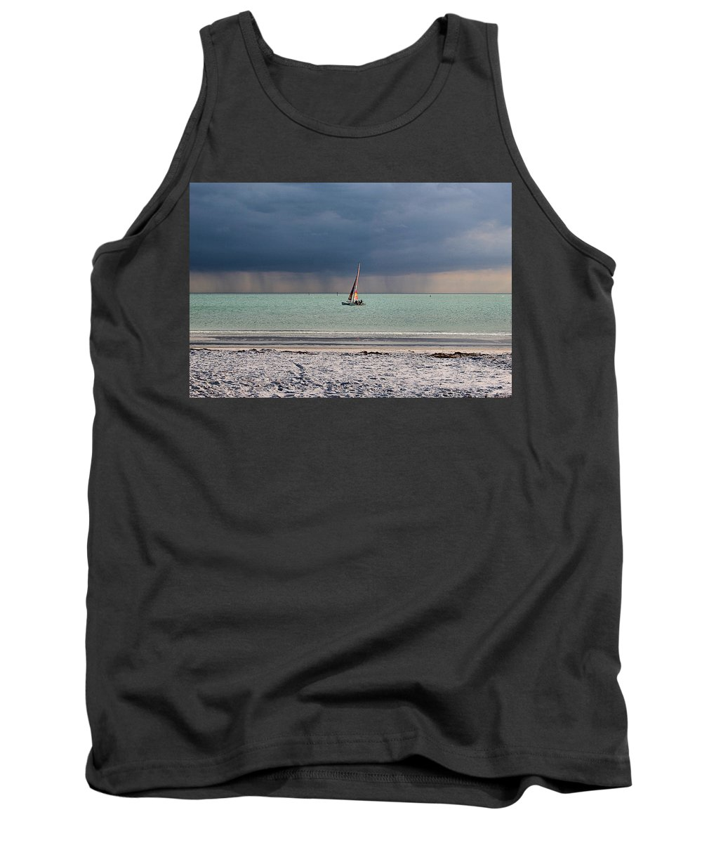 Storm Tank Top featuring the photograph Approaching Storm by DJ Florek