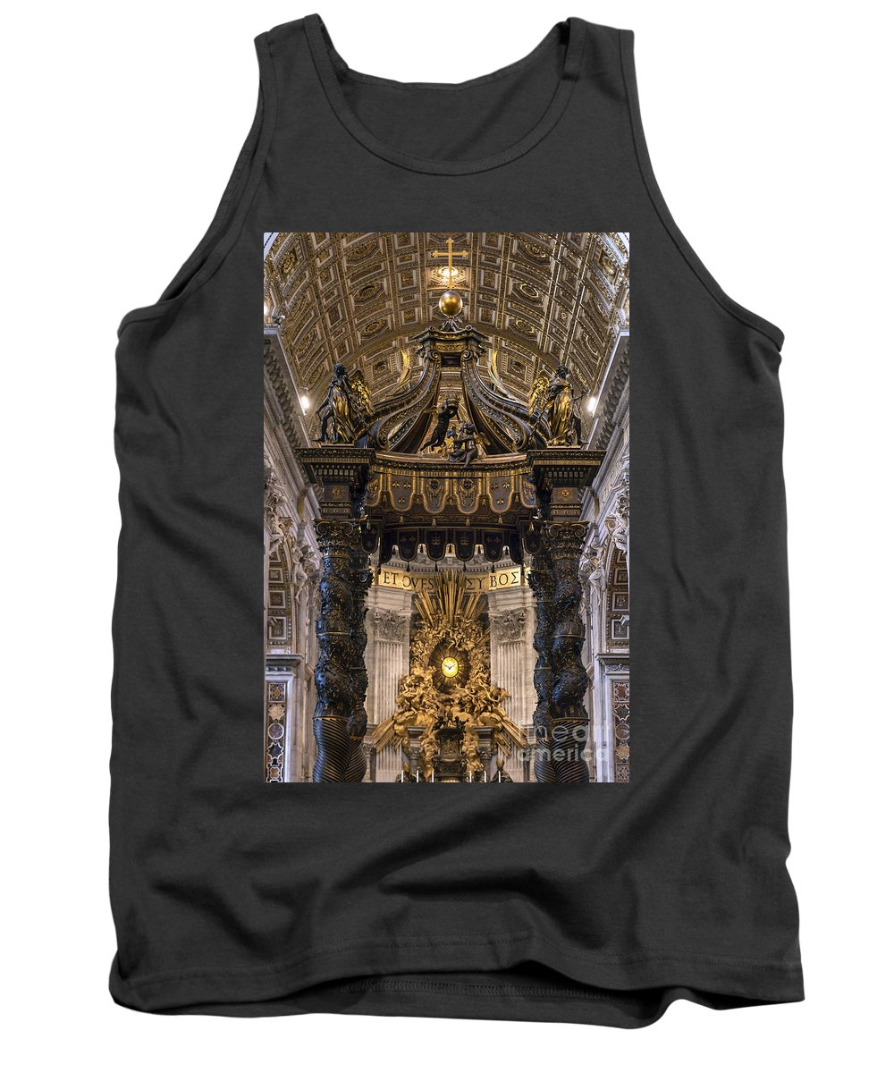Altar Tank Top featuring the photograph Apse Gloria by John Greim