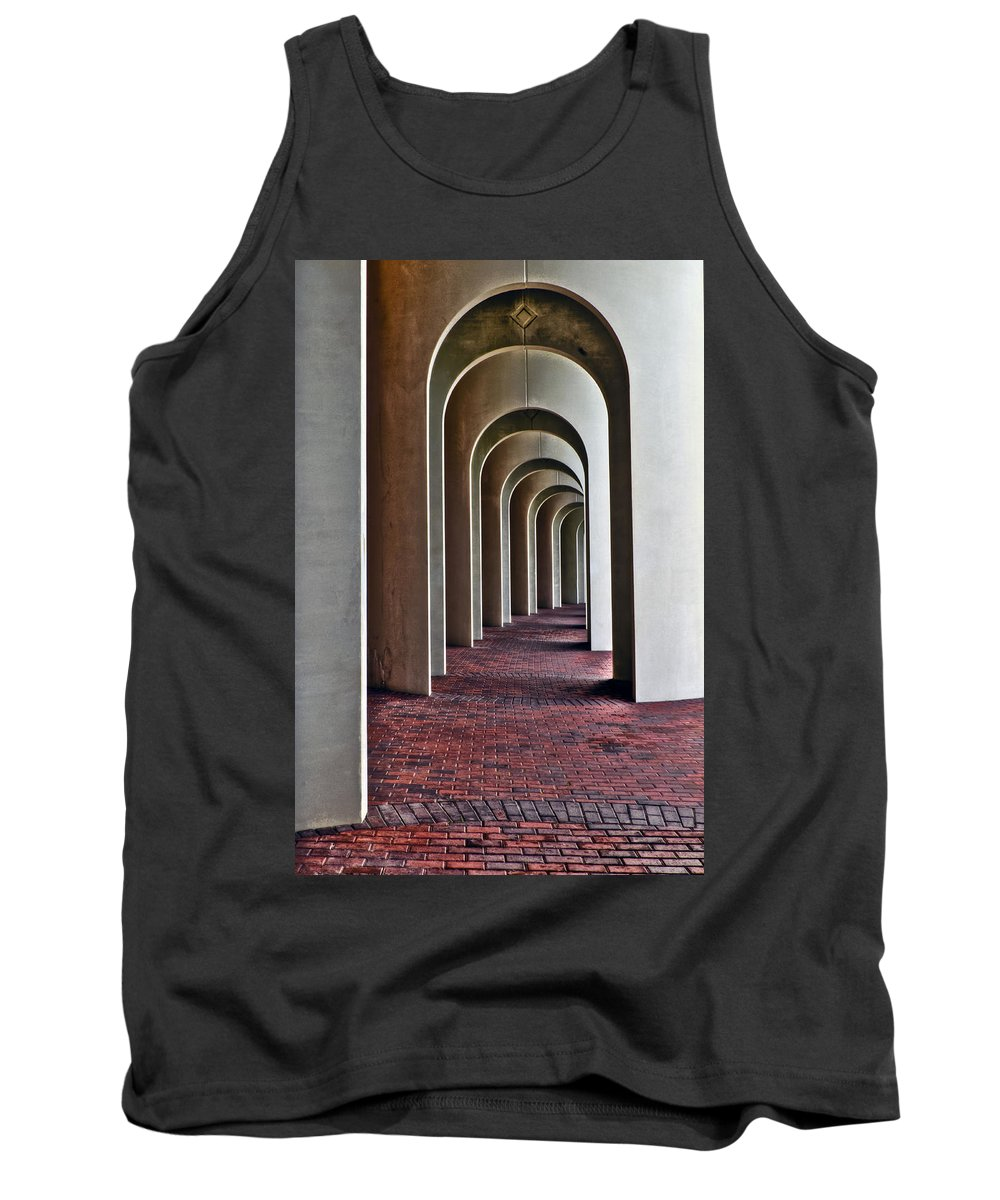 Cnu Tank Top featuring the photograph Arches Of Ferguson Center by Jerry Gammon