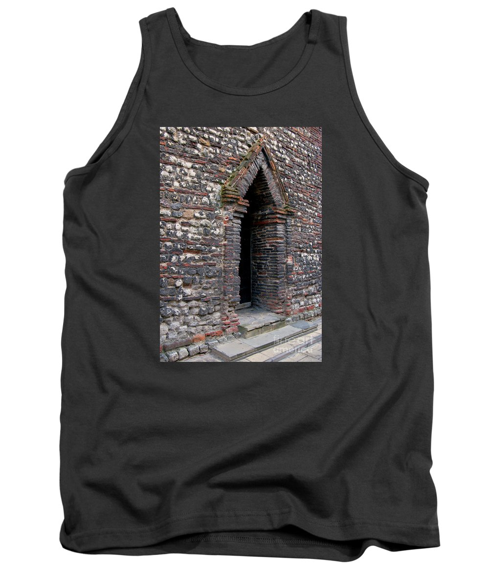 England Tank Top featuring the photograph Arrowhead Doorway by Ann Horn