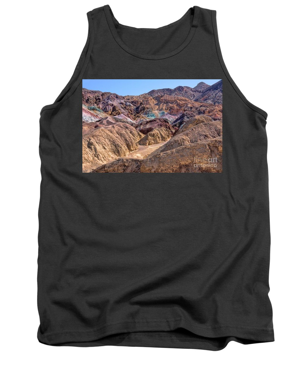 California Tank Top featuring the photograph Artist Pallet Two by Peggy Hughes