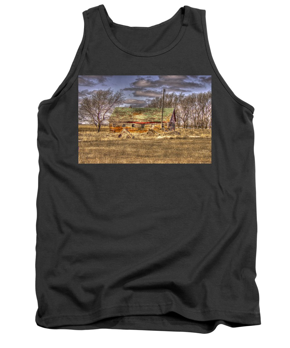 South Dakota Tank Top featuring the photograph As We Age by M Dale
