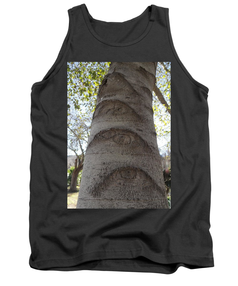 Eyes Tank Top featuring the photograph Aspen Eye by Shannon Grissom