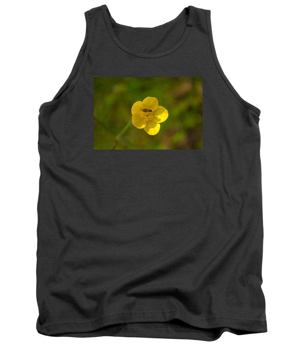 Flower Tank Top featuring the photograph Association by Rima Biswas
