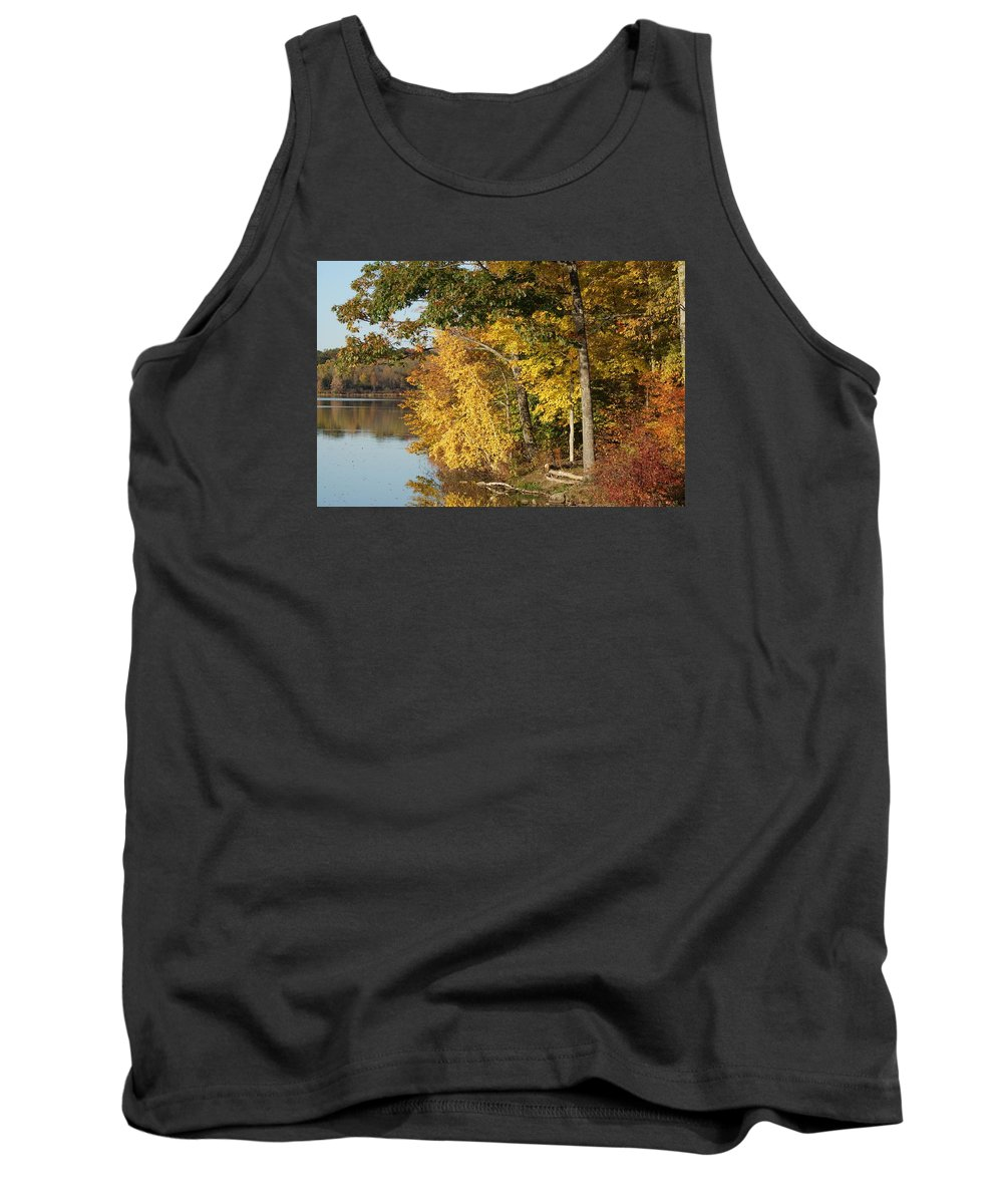 Landscape Tank Top featuring the photograph At The Basic by Joe Bledsoe
