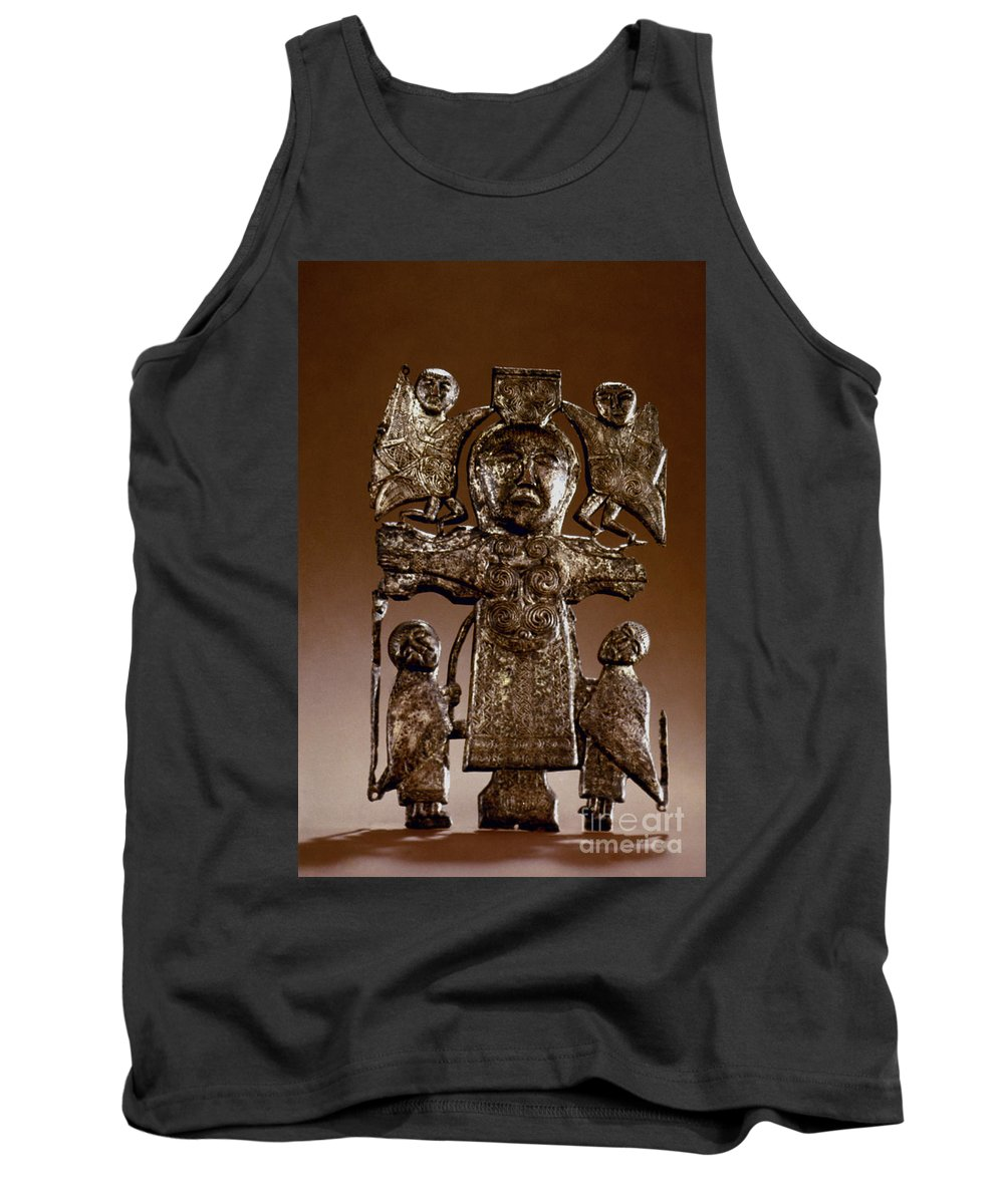 7th Century Tank Top featuring the photograph Athlone Crucifixion by Granger