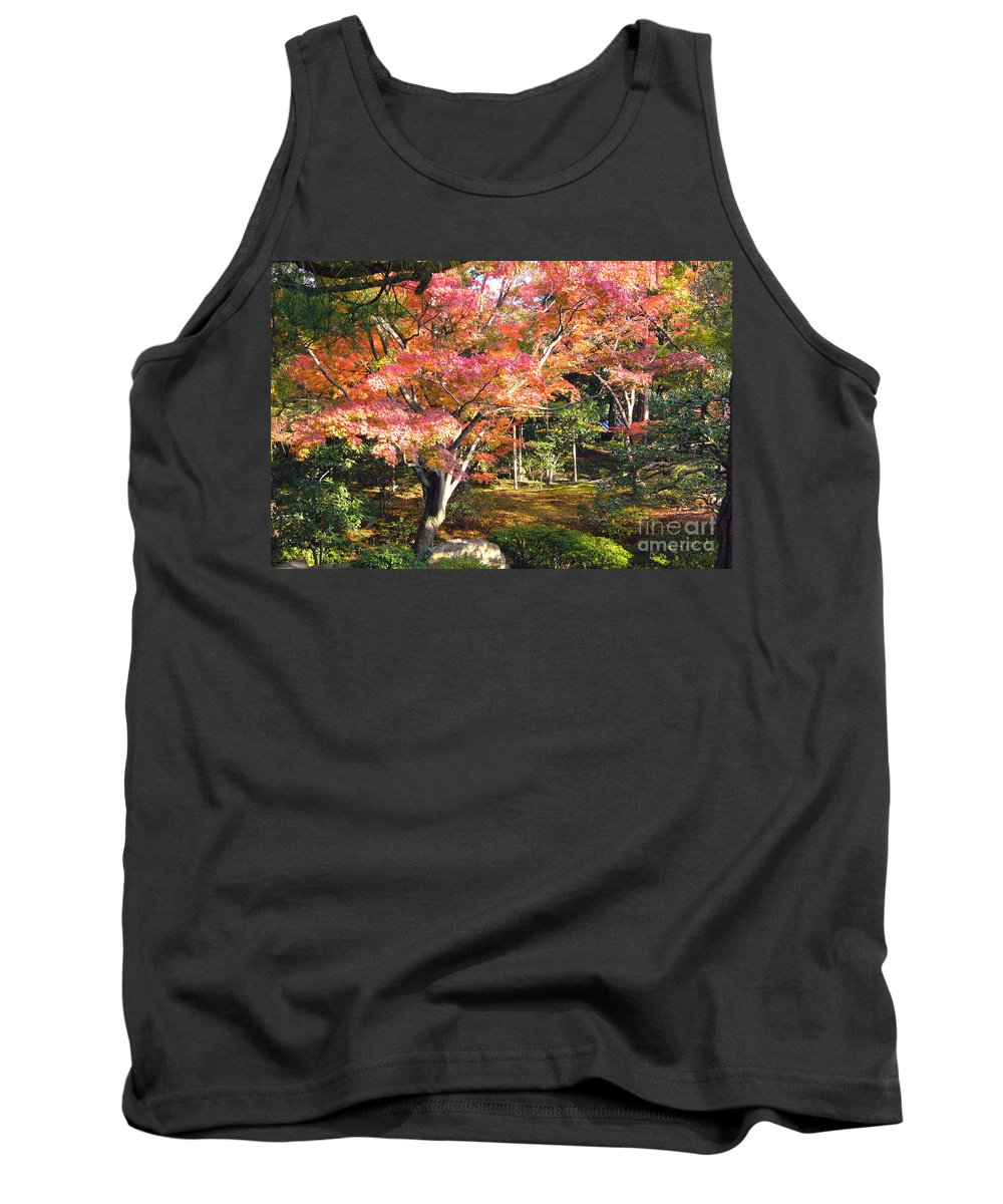 Kyoto Tank Top featuring the photograph Autumn Colors by To-Tam Gerwe