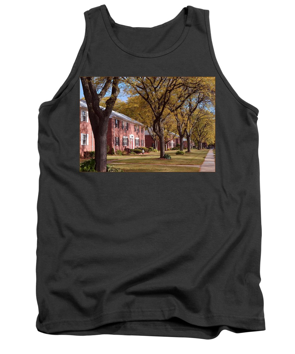Happy Thanksgiving Tank Top featuring the photograph Autumn Days by Sonali Gangane